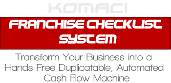Franchise Checklist System
