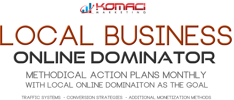 LOCAL ONLINE BUSINESS DOMINATOR PROGRAM