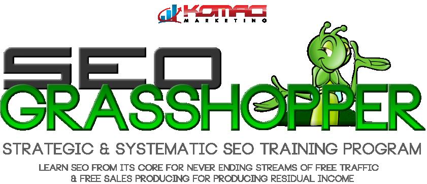 SEO Grasshopper Training logo
